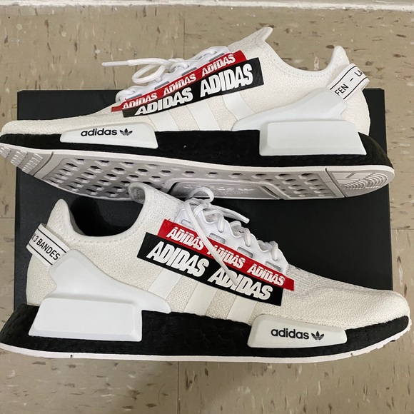 """Adidas NMD R1 V2 """"Overbranded"""""""